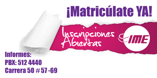 ¡Matricúlate YA!